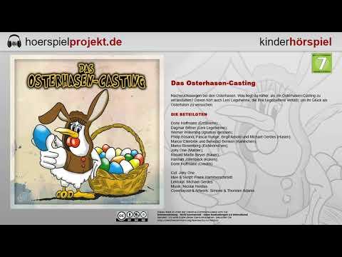 Das Osterhasen Casting Hörspiel für Kinder und Junggeblieb