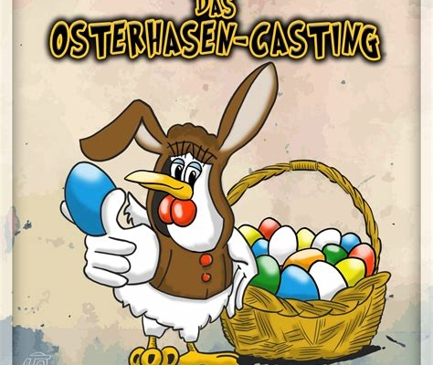 Hörspielcover Osterhasencasting