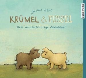 Hörbuchcover Krümel und Fussel