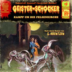 Hörspielcover Geister-schocker 84