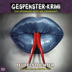 Hörspielcover Gespenster-Krimi Teufelstochter